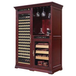 Винный шкаф ClimaCave – 118/300/C8 BAR HUM