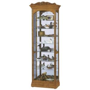 Узкая стеклянная витрина Howard Miller – Cumberland