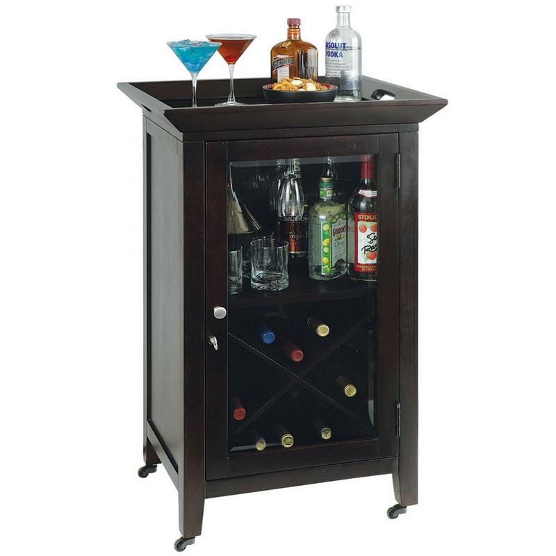 Винный шкаф-консоль Butler