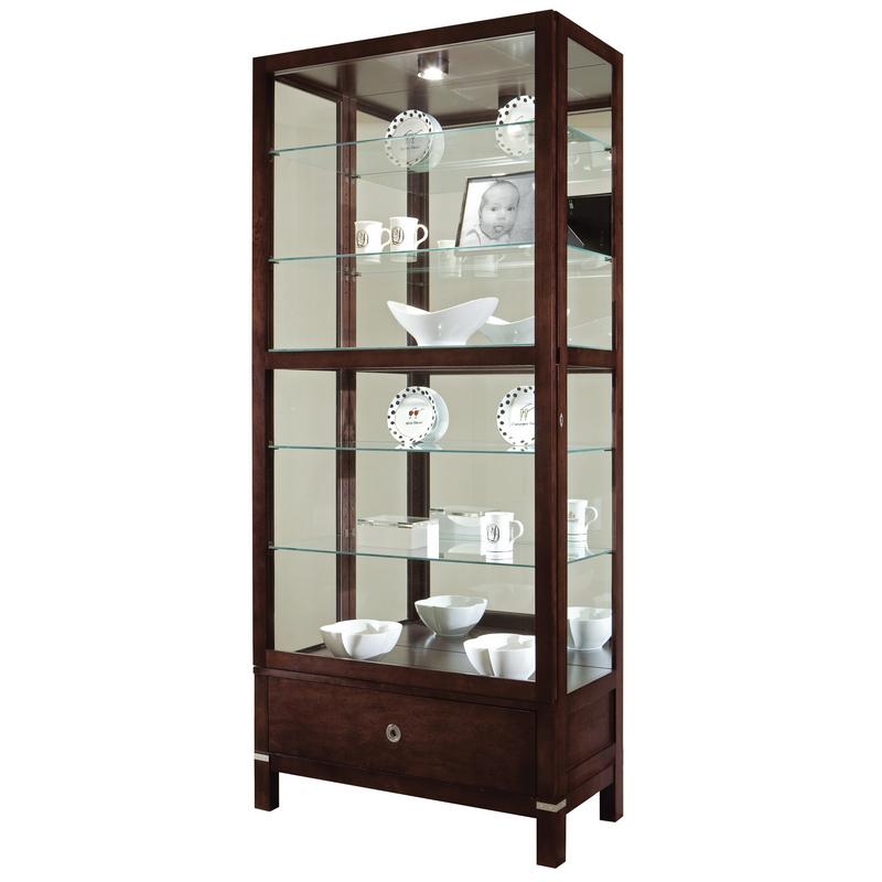Шкаф витрина для посуды Howard Miller - Williamson
