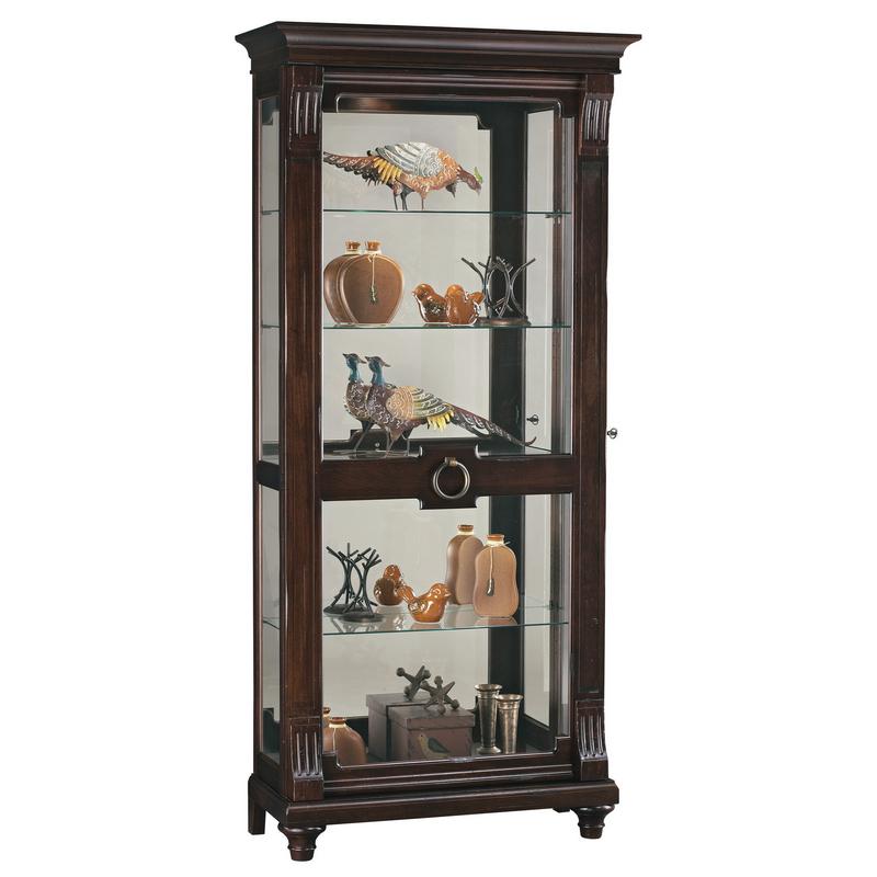 Шкаф витрина для гостиной Howard Miller - Brenna