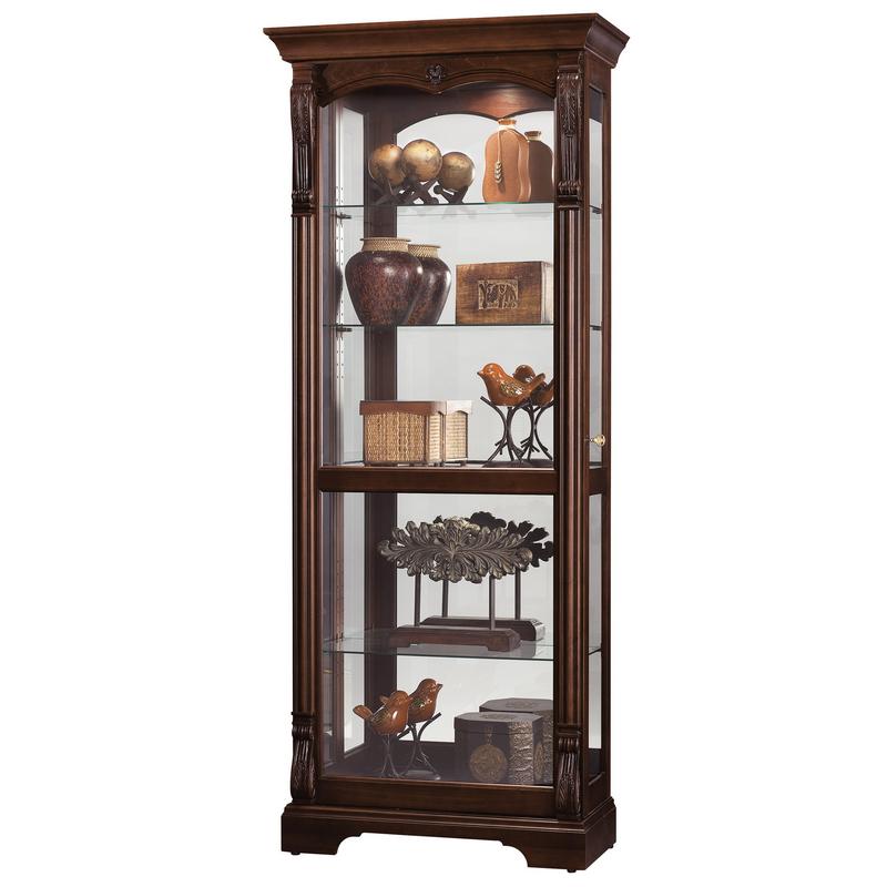 Шкаф витрина с подсветкой Howard Miller - Bernadette