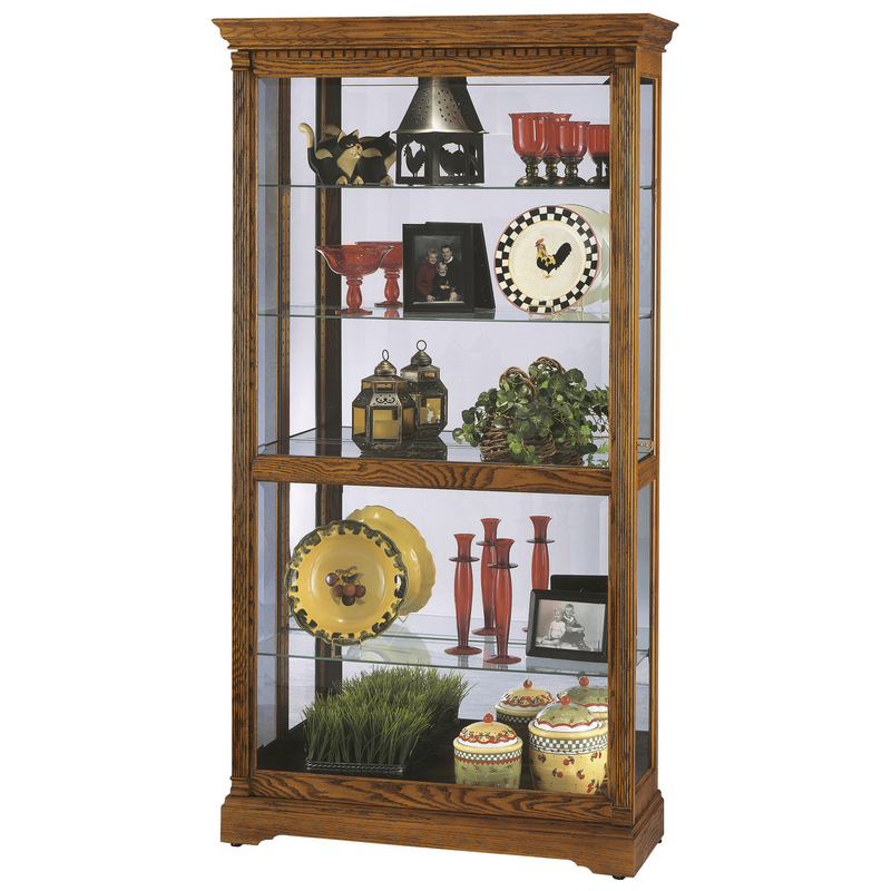 Витрина со стеклянными дверцами Howard Miller - Donegal