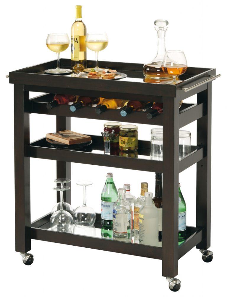 Винный шкаф – консоль Pienza Wine & Bar Cart
