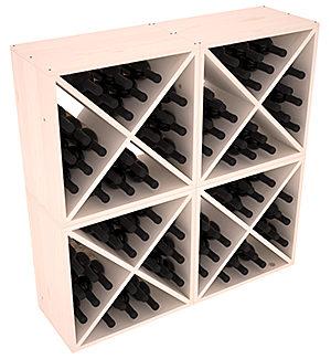Полка-Куб для хранения 96 бутылок (100смх100смх30см)