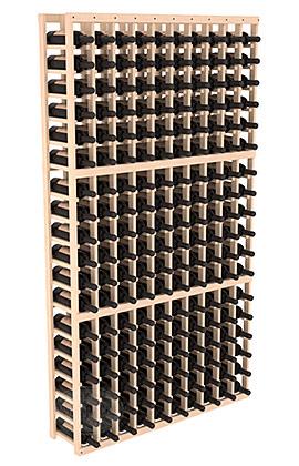 Полка для вина – 10 стоек, на 180 бутылок...