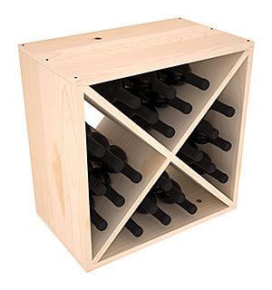 Полка-Куб для хранения 24 бутылок (50смх50смх30см)