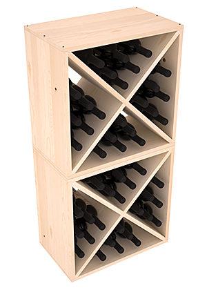 Полка-Куб для хранения 48 бутылок (100смх50смх30см)