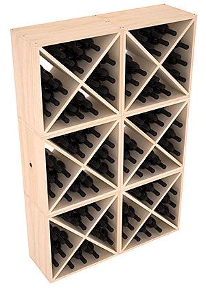 Полка-Куб для хранения 144 бутылок (100смх150смх30см)