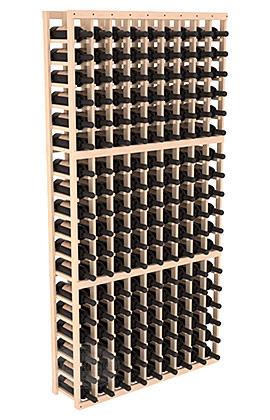 Полка для вина – 9 стоек, на 162 бутылок...