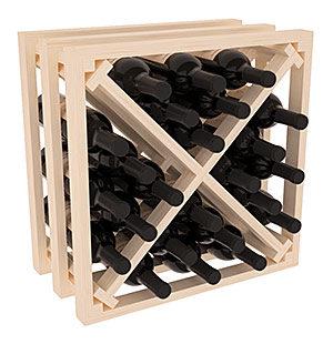 Полка – решетка Х-Куб на 24 бутылки (50х50х30)