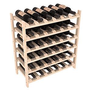 Широкая Полка для хранения 36 бутылок (66смх72смх30см)