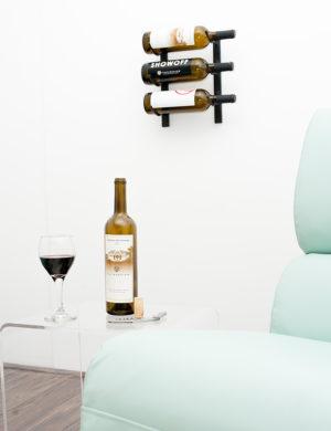 Настенный винный стеллаж 3-9 бут. 0,75л.