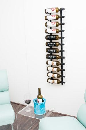 Настенный винный стеллаж 12-36 бут. 0,75л.