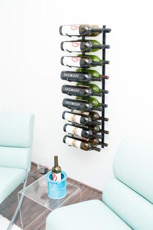 Настенный винный стеллаж 9-18 бут. 1,50л. МАГНУМ